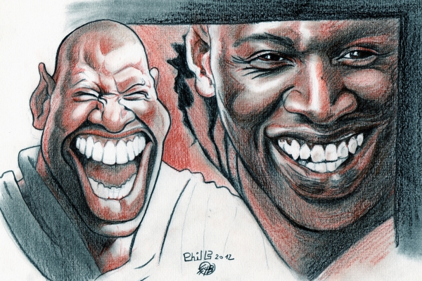 Omar Sy by PhilLP